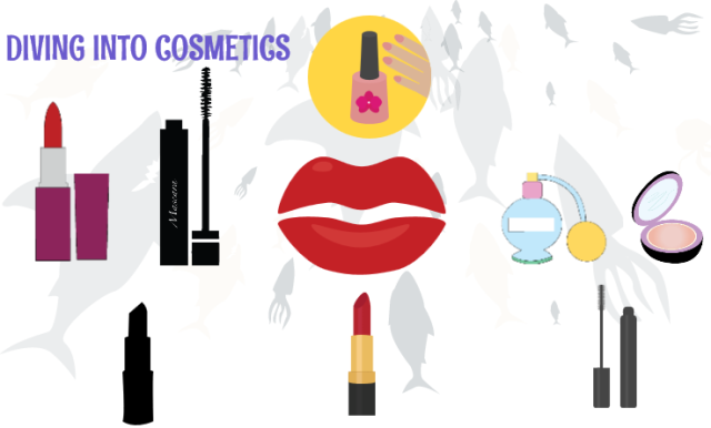 Diving into cosmetics