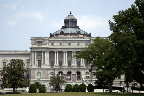 The Library of Congress Thomas Jefferson Building. Photo by Carol M. Highsmith